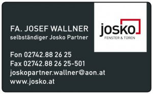 Inserat JOSKO-Wallner 2012