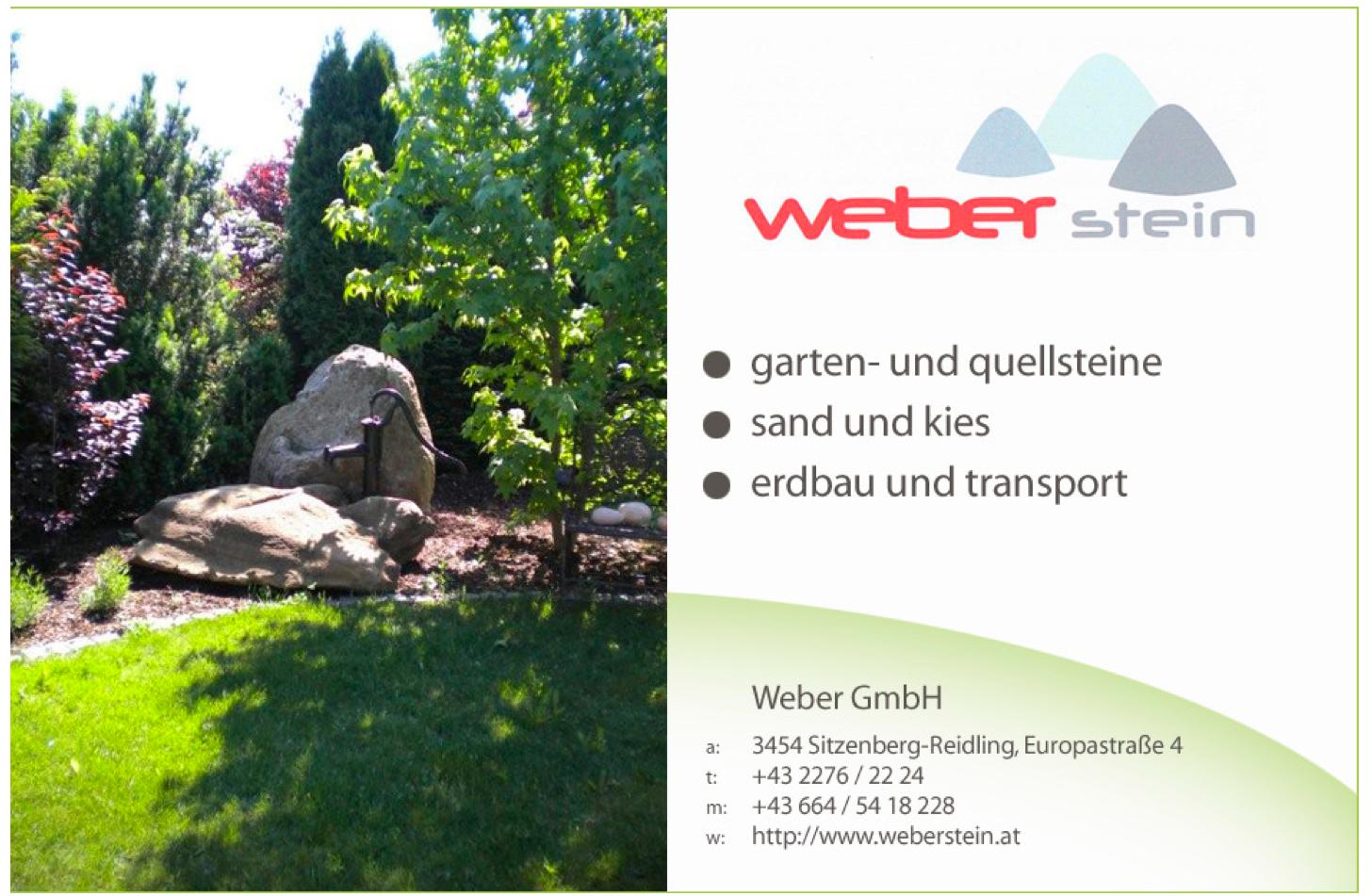 Weber Stein