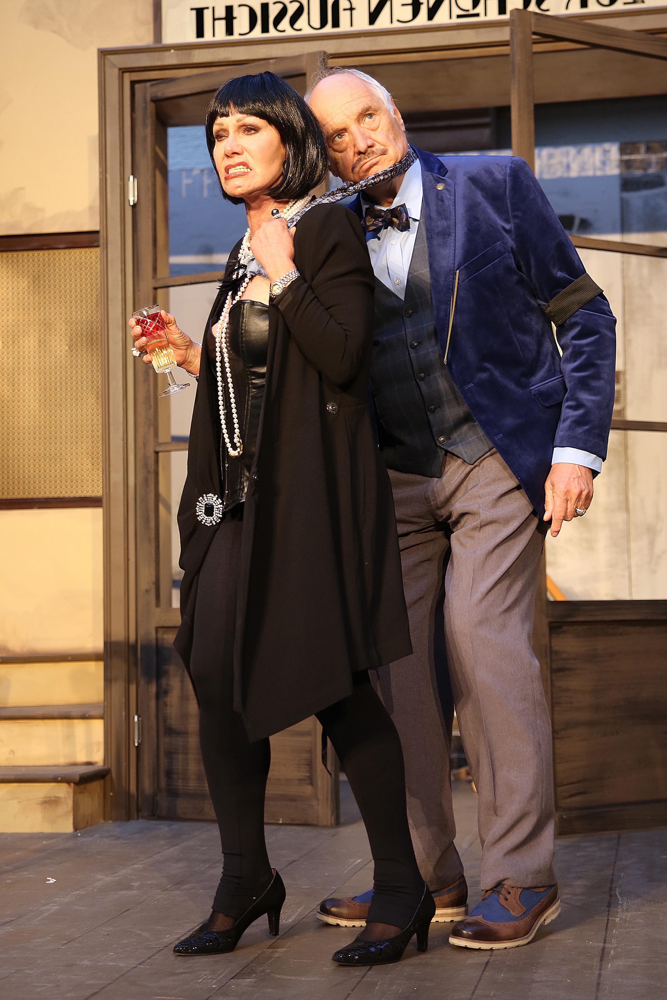 Edith Leyrer und Gerhard Dorfer_Foto Rolf Bock